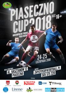 Plakat Piaseczno Cup 2018