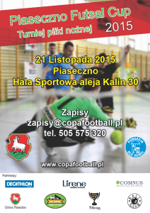 Piaseczno Cup Listopad 2015