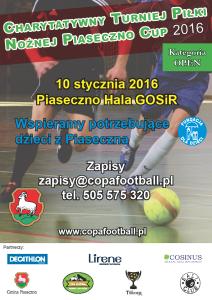 Piaseczno Cup Styczeń 2016