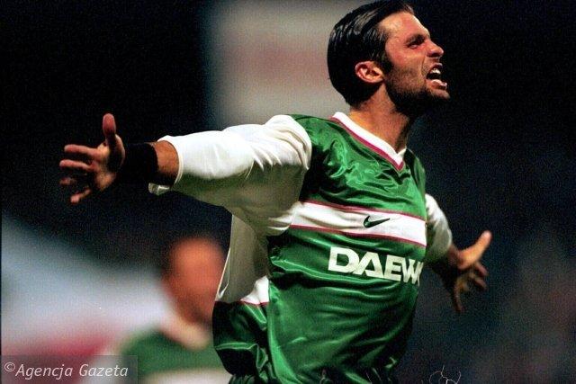 30.09.1999 WARSZAWA- LEGIA - CYPR UEFA MARCIN MIECIEL MZ1905